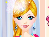 Cute Girls Design clothes for Barbie