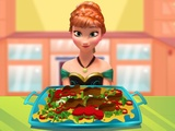 Anna cooking Chick...