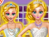 Blonde Princesses Wedding Day