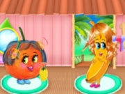 Funny Fruits Hair ...
